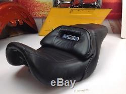 06-17 OEM Genuine Harley Dyna Lowrider Street Bob Bucket Seat With Lumbar Pad