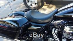 08-19 Harley Touring C&C Brawler Solo Seat Road Glide & Street Glide