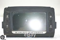 09-18 Harley Davidson Touring Street Glide Boom Radio Gps 6.5 Navigation Radio