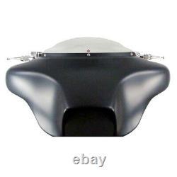 1 1/4 Chrome 12 Ape Hanger Handlebar Kit 1996-2006 Harley Electra Street Glide