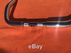 10 Chrome Ape Hanger 1-1/4 Handle Bar to Harley Davidson Electra Street Glide
