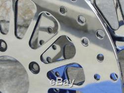 11.8 Spoke Front Brake Rotor Pair For Harley Street Road Glide 2008 Up