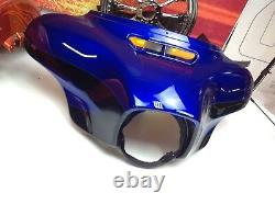 14-20 OEM Harley 2017 CVO Street Glide Front Outer Bat Wing Fairing
