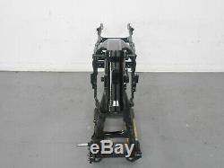 #1950 2010 09 13 Harley Davidson CVO Street Glide Frame Chassis SLVG