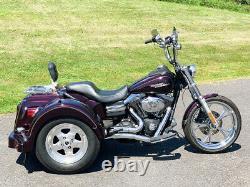 2007 Harley-Davidson Dyna Street Bob FXDB Lehman Trike Rear End Conversion Kit