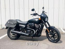 2016 Harley-Davidson Street 750 XG750 XG with Only 1,821 Miles! + Saddlebags