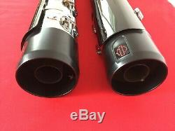 2020 Harley Cvo Street Glide Screamin Eagle Slip On Exhaust Mufflers M8 Touring
