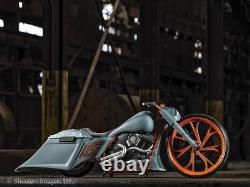 21 Inch BladeRunner Motorcycle Wheels Harley Road Street King Glide Touring FXR