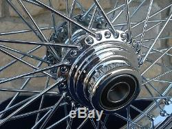 21x3.5 60 Spoke Front Wheel Harley Ultra Road King Street Glide Touring 00-07