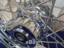 21x3.5 Kcint Dna 60 Spoke Front Wheel Harley Ultra Road King Street Glide 00-07