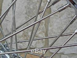 21x3 60 Spoke Front Wheel Harley Road King Street Glide Touring 00-07