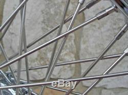 23x3.5 80 Spoke Front Wheel Harley Ultra Road King Street Glide Touring 00-07