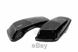 6x9 Speaker Lids for 2014-2020 Harley Saddlebags Street Road King Glide