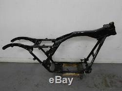 #9257 2012 09 to 13 Harley Davidson Street Glide Salvage Frame Chassis SLVG