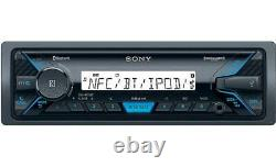 98-13 HARLEY PLUG & PLAY SONY MARINE BLUETOOTH USB RADIO STEREO With OPT SIRIUSXM