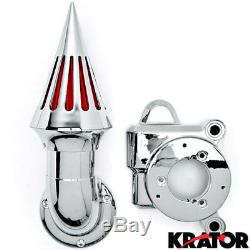Air Intake Spiked Chrome For 2014-2015 Harley Davidson Street Glide Special