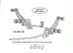 Billet Aluminum Forward Controls Harley Dyna Street Bob 2006-16 Fxdb Hdm841sb1