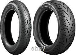 Bridgestone Battlecruise 130/70b18 180/65b16 Tire Set Harley Road Glide Street