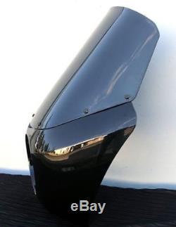 Club Style Front Fairing for Harley-Davidson Dyna Street Bob Rifle Gloss Black