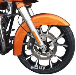 Coastal Moto 21 Black Front Wheel 14-17 Harley Street Glide Flhx Cvo Flhxs