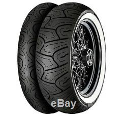 Continental White Wall Front/rear Tire Set Harley Electra Glide Road King Street