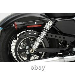 Drag Specialties Premium Adjustable Shocks 10.5 Chrome Harley Davidson