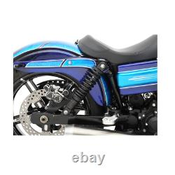 Drag Specialties Premium Adjustable Shocks 13 Nitrogen Black Harley Davidson