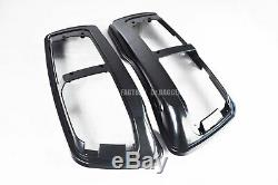 Dual 6x9 Speaker Lids 2014-later Harley Saddlebag Touring Road King Street Glide