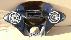 Fairing Harley Dyna Wide Low Rider Super Glide Custom Street Bob CD + Speakers