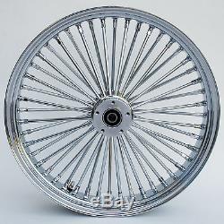 Fat Spoke 23 Front Wheel & Triple Tree Raked 2008-2013 Harley Flhx Street Glide