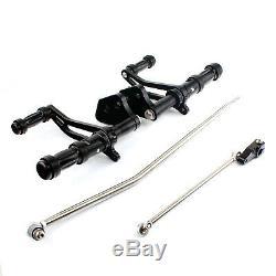 For Harley Davidson Street Bob FXDB 06-16 Forward Controls Pegs Aluminium Alloy