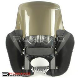 For Harley Dyna Street Bob FXR Sportster Front Fairing 15 Windscreen Windshield
