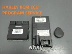 HARLEY DAVIDSON Lock set Lost KEY FOB BCM PIN SERVICE ECU STREET ROAD GLIDE