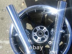HARLEY LOWER LEGS STREET GLIDE POLISHED 41 mm NO EXCHANGE 2000-2013
