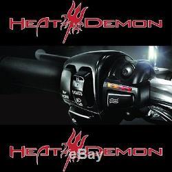 HEAT DEMON Griffheizung f Harley Davidson Street Bob / Fat Bob / Fat Boy NEU