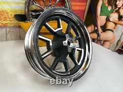 Harley 08-17 Dyna Low Rider Street Bob Mag Rear wheel