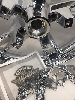 Harley 2014 -20 Touring Bagger Rim Street Flhx Enforcer Chrome Wheel (outright)