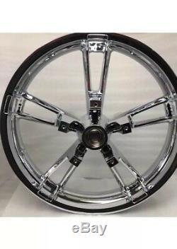 Harley 2014 Rim Touring Street Glide Flhx Flhr Enforcer Chrome Wheel (outright)