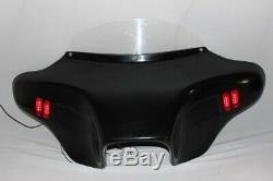 Harley Batwing Fairing Windshield Led Touring Road King Glide Street Ultra Glide
