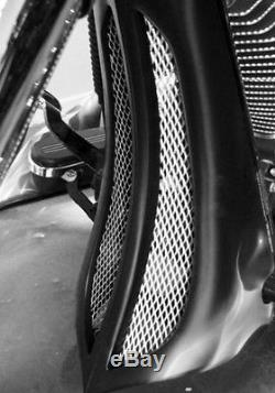 Harley Davidson Chin Spoiler Scoop Custom Bagger Motorcycle Street Glide FLHX