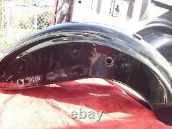 Harley Davidson Dyna Street Bob Fat Bob Low Rider Rear Fender Vivid Black 07-17