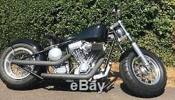 Harley Davidson Exile Bulldozer Hardtail Custom Bobber Pro street Breakout