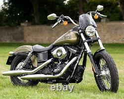 Harley-Davidson FXDB Street Bob Dart Classic Flyscreen in Midnight Black