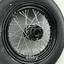 Harley Davidson Hinterrad Speichenfelge Felge 16 Zoll T 16-3,00 + Dunlop