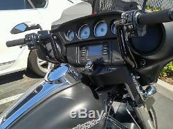 Harley Davidson Street Glide Ape Hangers Black 10 Bagger Bars Flht Flhx USA