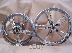 Harley Davidson Touring Street Glide Enforcer Wheels Chrome Exchange