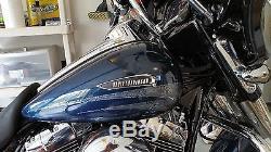 Harley NEW CVO Skull Tank Emblems Chrome Breakout Softail Dyna Street Bob FLHX