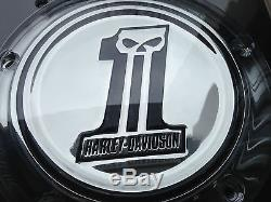 Harley No1 Willie G Skull Derby AND Timer Cover Twin Cam Street Glide 2006-2014