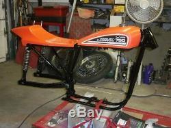 Harley Xr750 Replica Frame & Oil Tank, Street Tracker, Ironhead Sportster