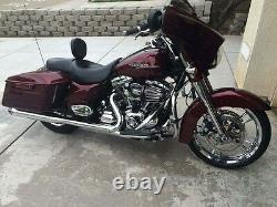 Harley no Exchange needed CHROME STREET GLIDE ENFORCER WHEELS AND FRONT ROTORS